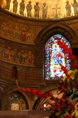 nef de la cathedrale de Strasbourg