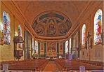 Nef et Chœur de l'Eglise Saint-Nicolas de Nérac (XVIIIème)