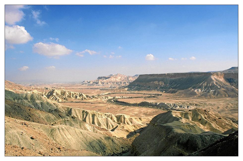 Negev Wüste Israel 2001