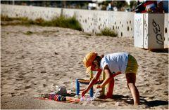 Negozio di spiaggia........Bracelet saleskid