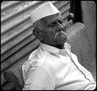 Nehru taking a nap.........