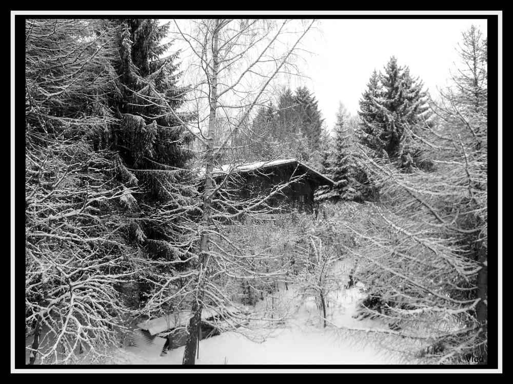 Neige à Combloux