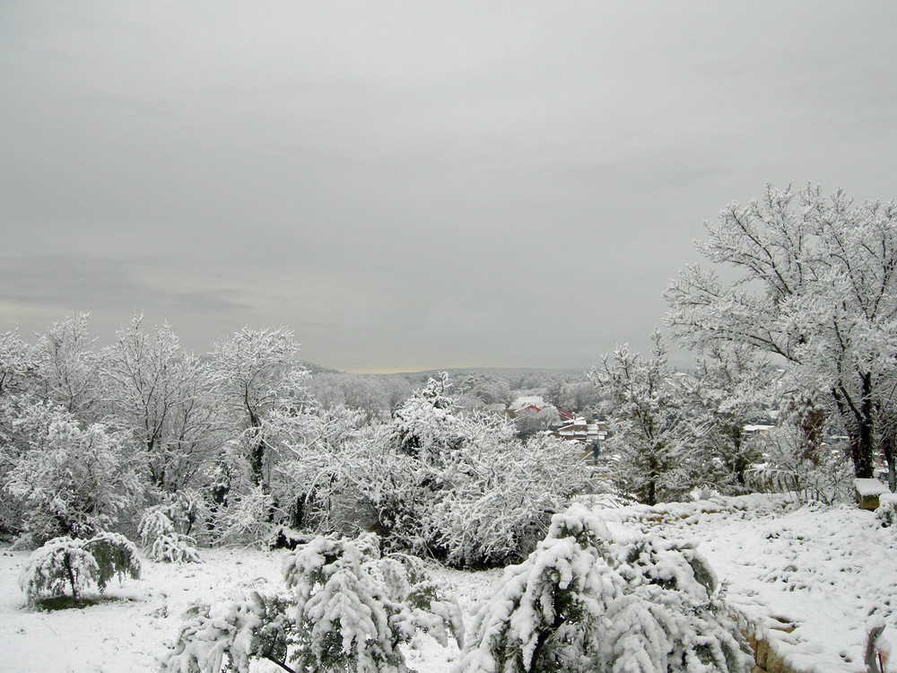 Neige à Gargas 2