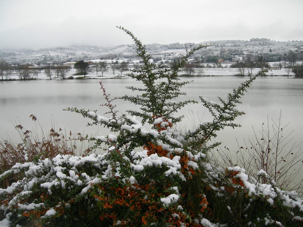 Neige à Gargas