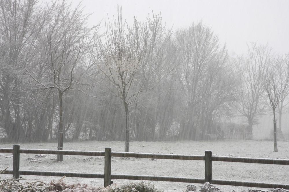 Neige au 22 mars!