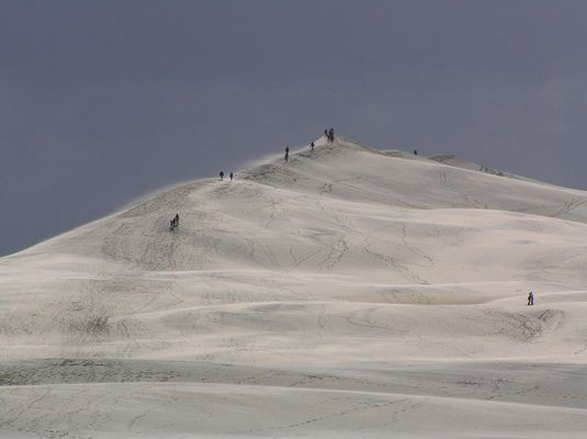 Neige ou sable?