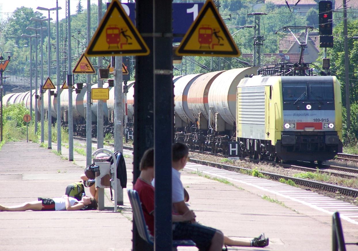 Nein, Bahnhöfe sind nicht schmutzig...