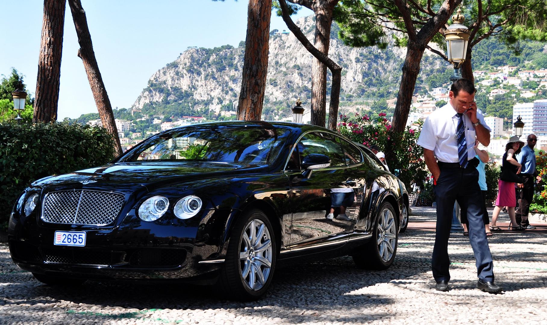 """""""Nein M, hier in London ist der Bentley nicht..."""""""