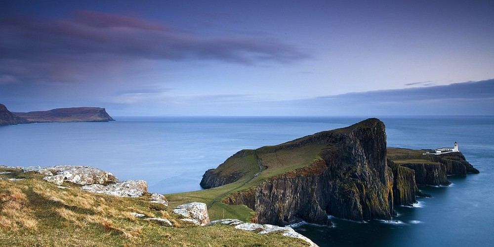 Neist Point - blue hour