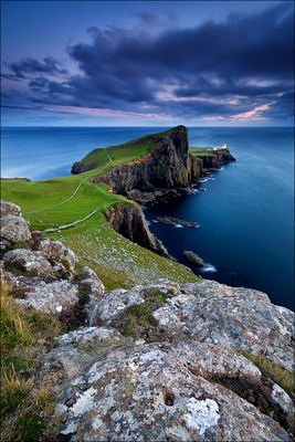 [ ... neist point sunset ]