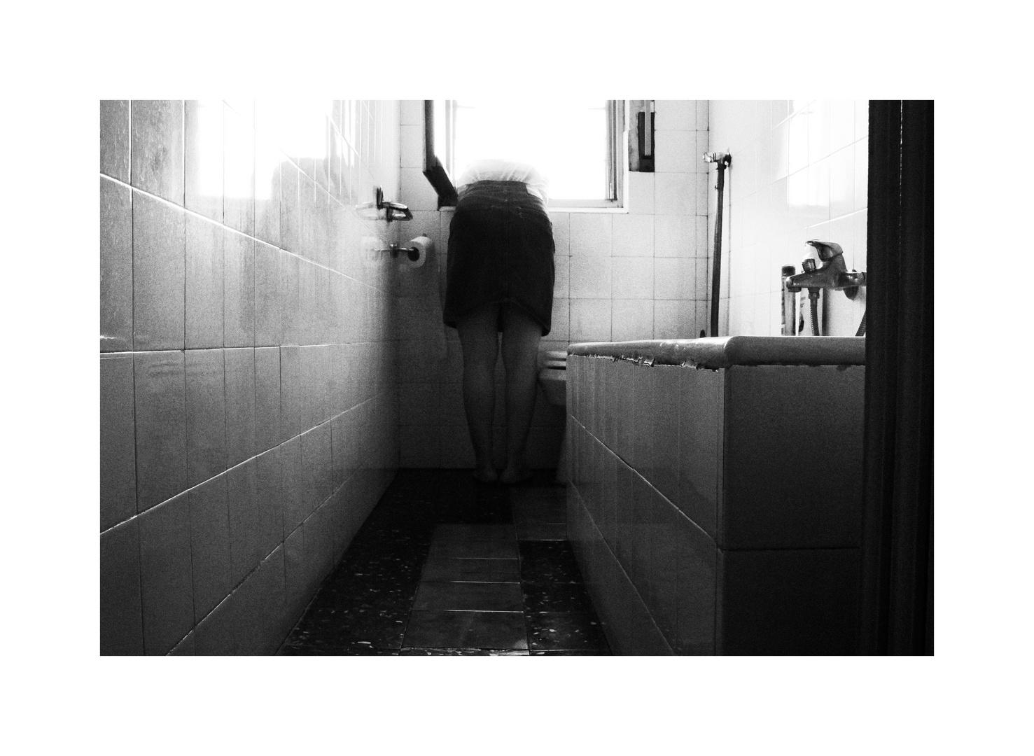 nel bagno giallo
