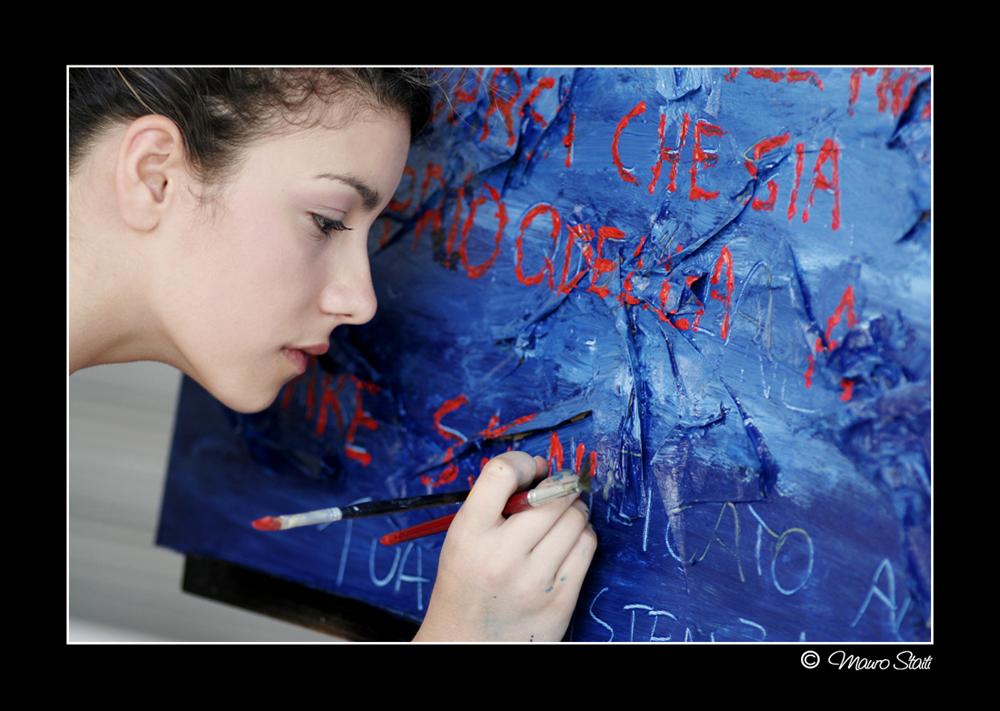 Nel blu dipinto di...