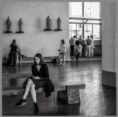 Nel museo di Orsanmichele