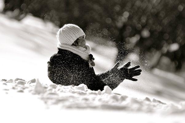 Nella neve