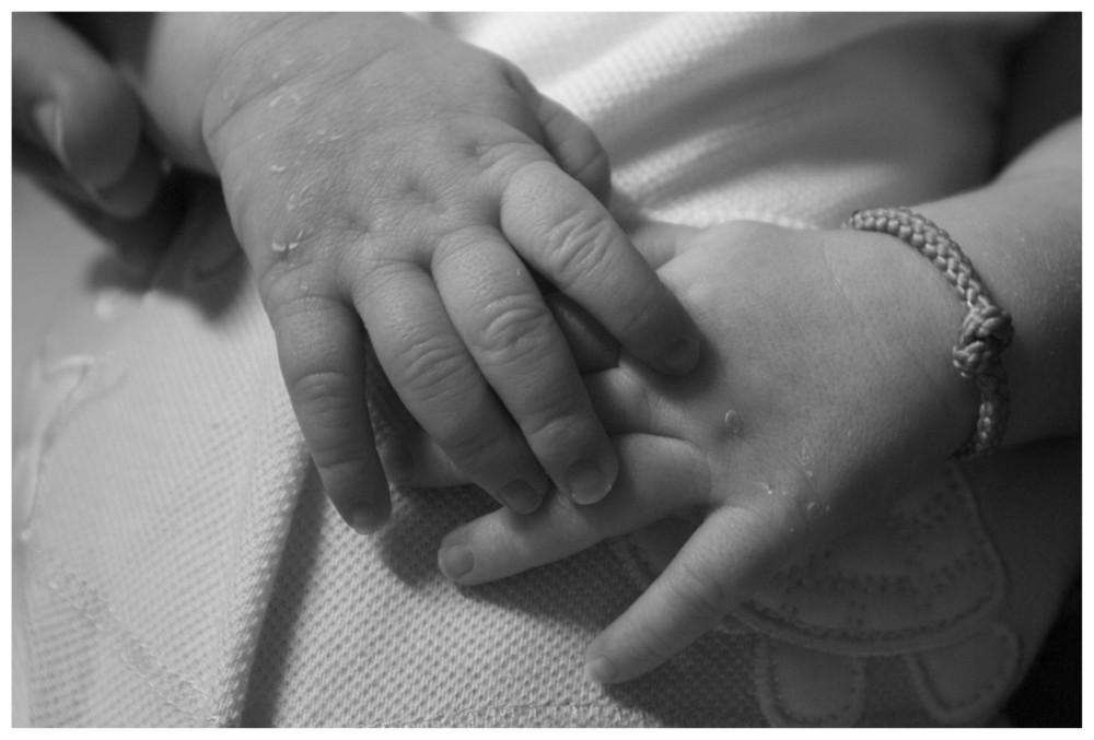 Nelle sue mani.