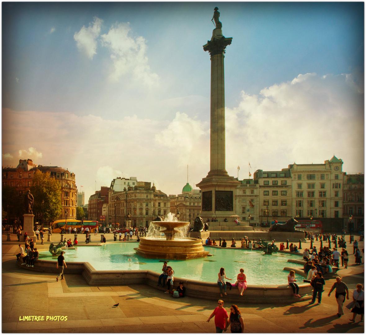 Nelson on Trafalgar Square