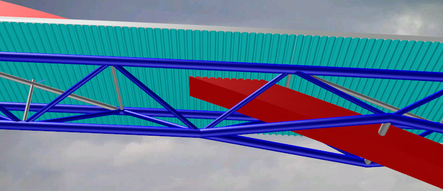 Nem-Detail-3D-Durchdringung