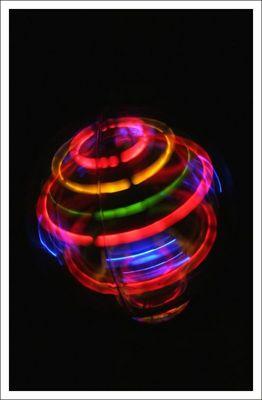 Neon Licht bewegung