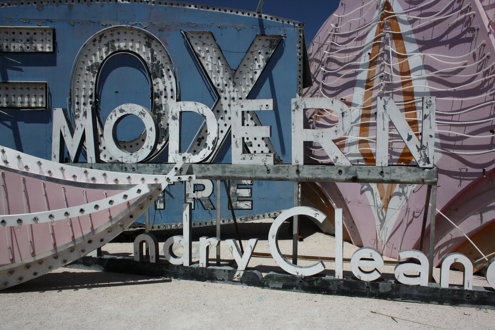 Neon sign boneyard