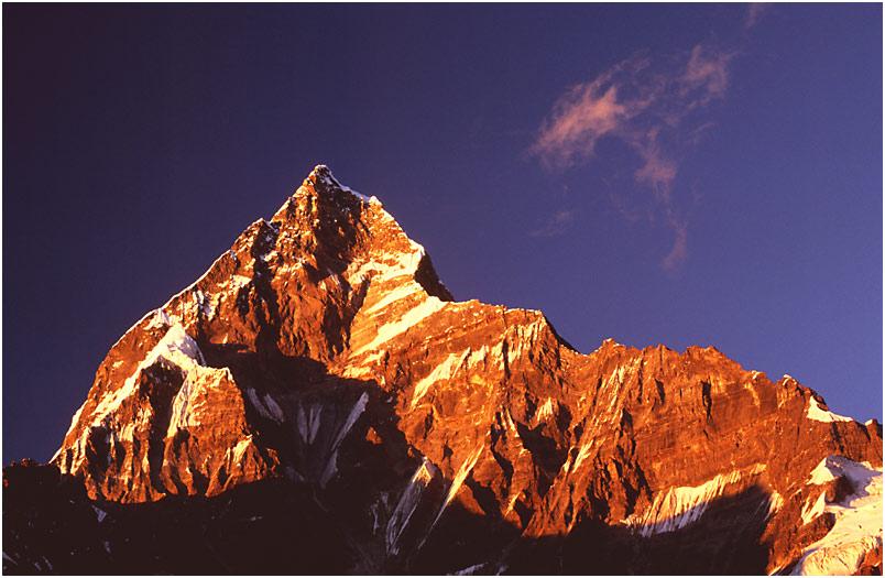 Nepal (2): Macchapuchare - der heilige Berg