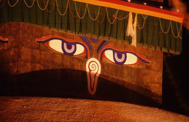 Nepal (9): Die Augen des Buddha