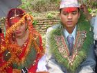 """Nepalese Bride groom & Bride during the Wedding ceremony"""