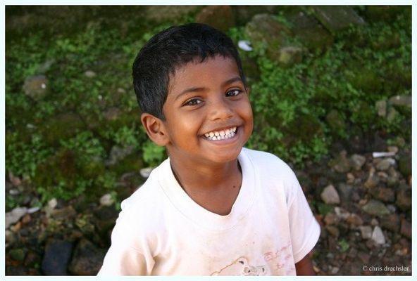 Nepalesischer Junge, Kathmandu