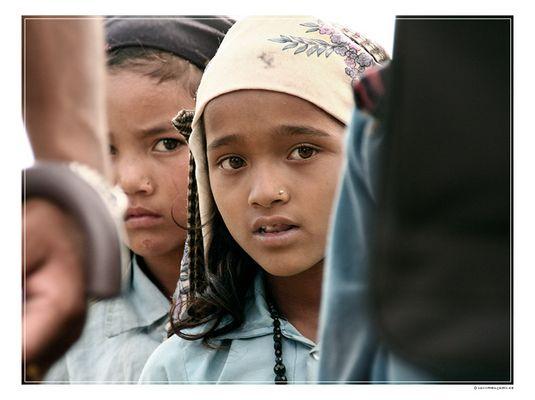 Nepalsommer: Wenn Augen sprechen können...