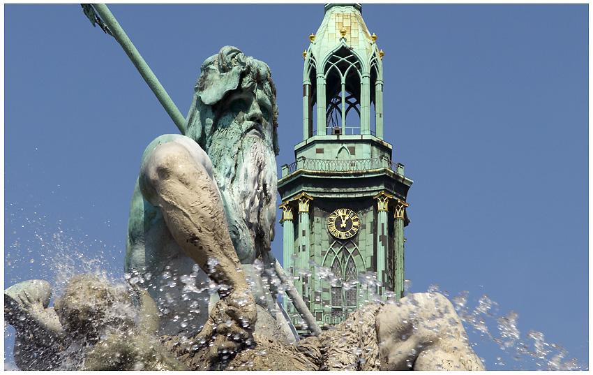 Neptun Brunnen - Berlin