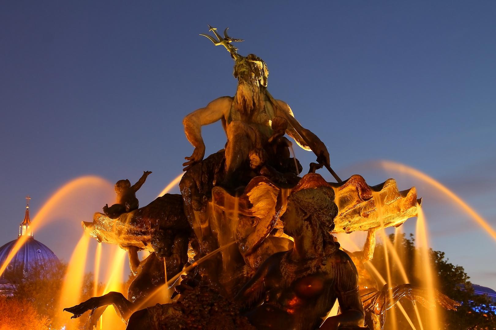 Neptunbrunnen Berlin Alexanderplatz