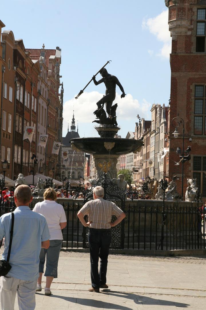 Neptunbrunnen Danzig