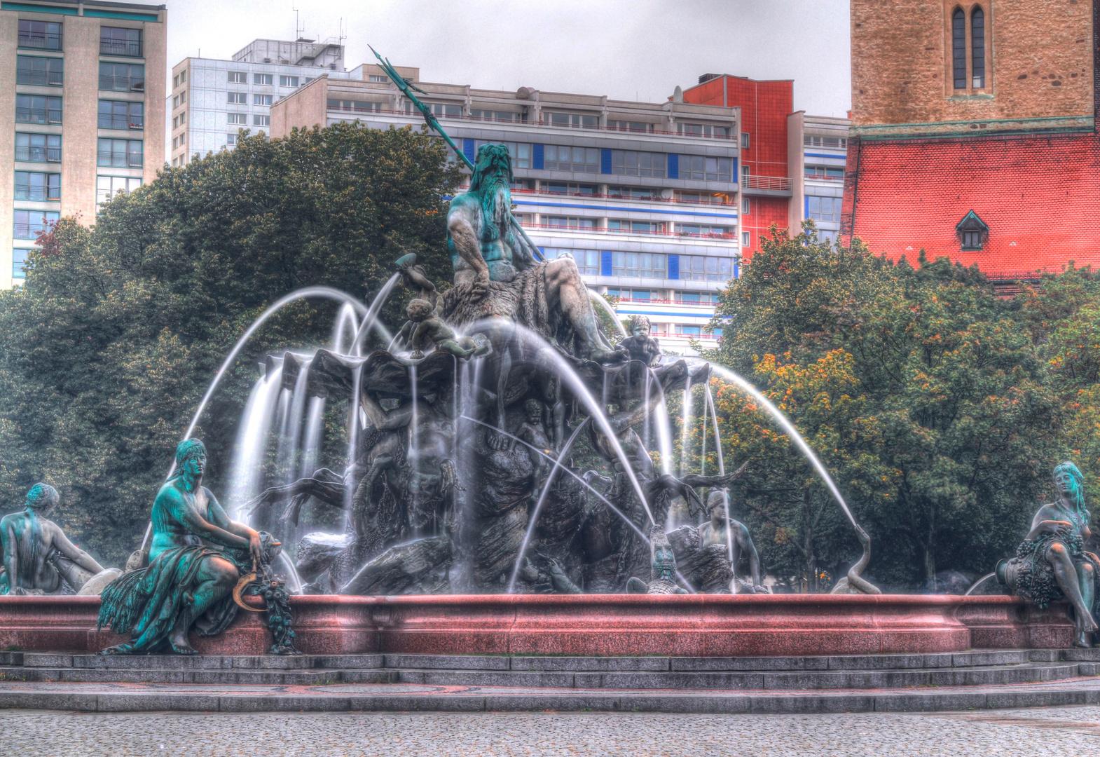 Neptunbrunnen in Berlin