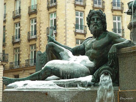Neptune glacé