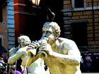 Neptunus mit Taube, Roma