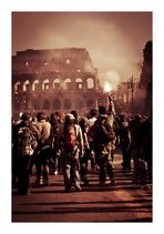 Nero burning Rome - Rome 15 October 2011