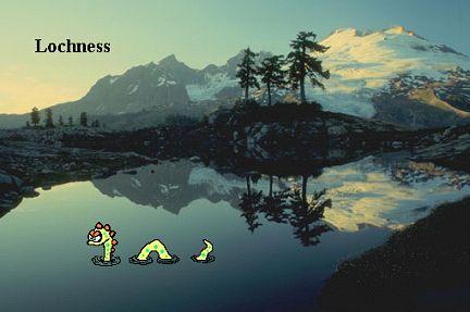 Nessi`s neues Loch ( Loch Ness )