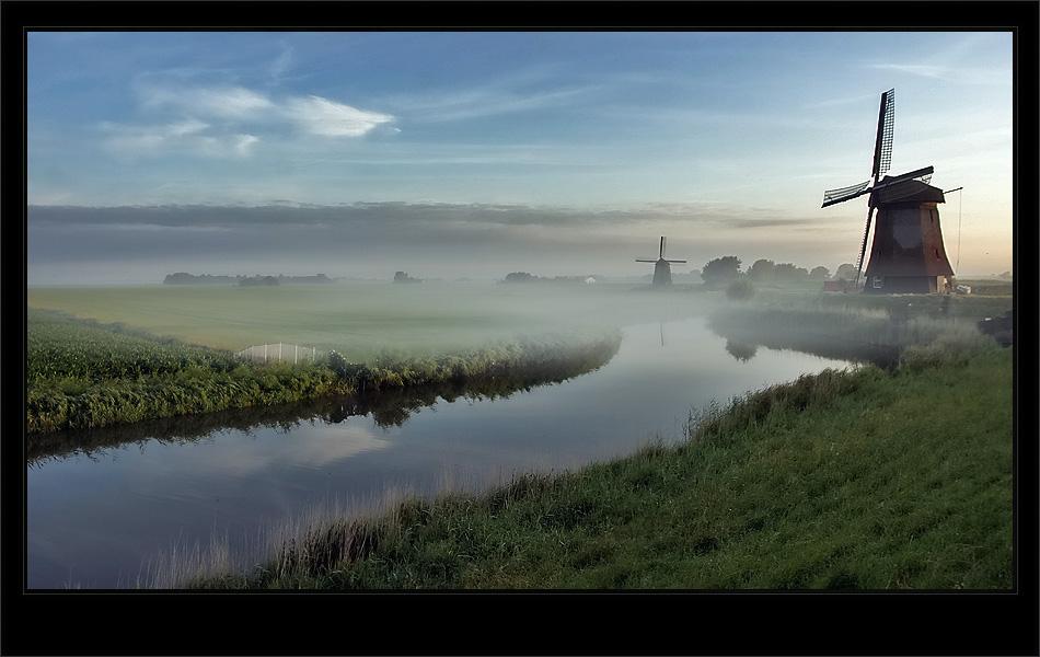 Netherland misty mood