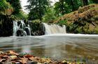 Nette Wasserfall bei Trimbs