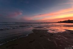 Nettuno al tramonto