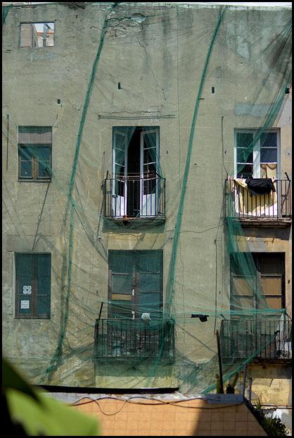Netz Fassade