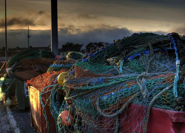 Netze in Dingle - Irland