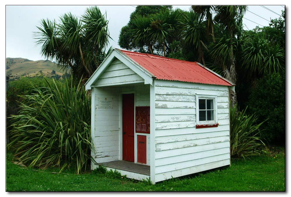 Neu Seeland, Südinsel, kleinste Poststelle von NZ