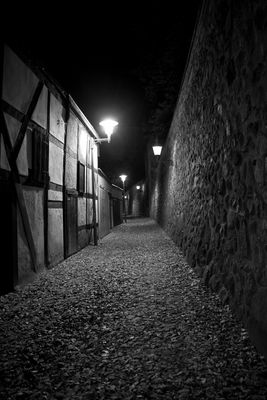 neubrandenburg - an der stadtmauer