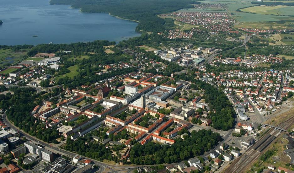 Neubrandenburg Stadt und Umgebeung