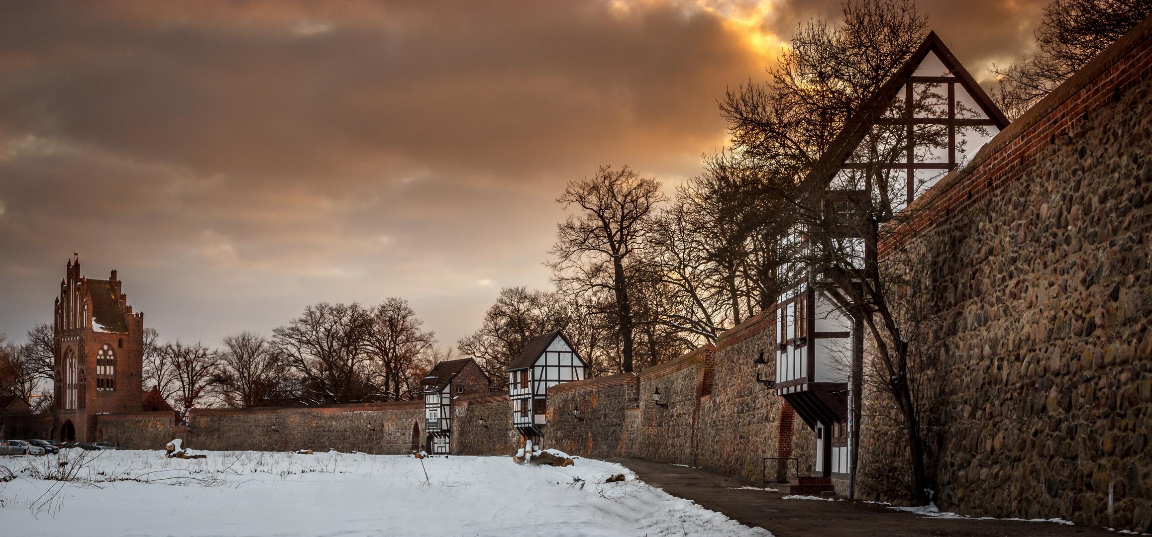 Neubrandenburg Stadtmauer