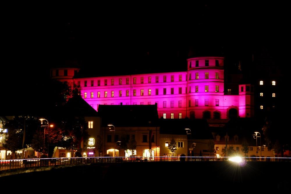 Neuburg bei Nacht