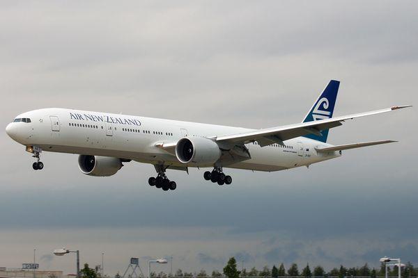 Neue Air New Zealand 777-300