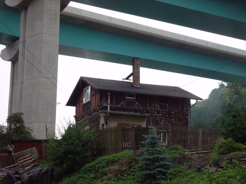 Neue Autobahnbrücke