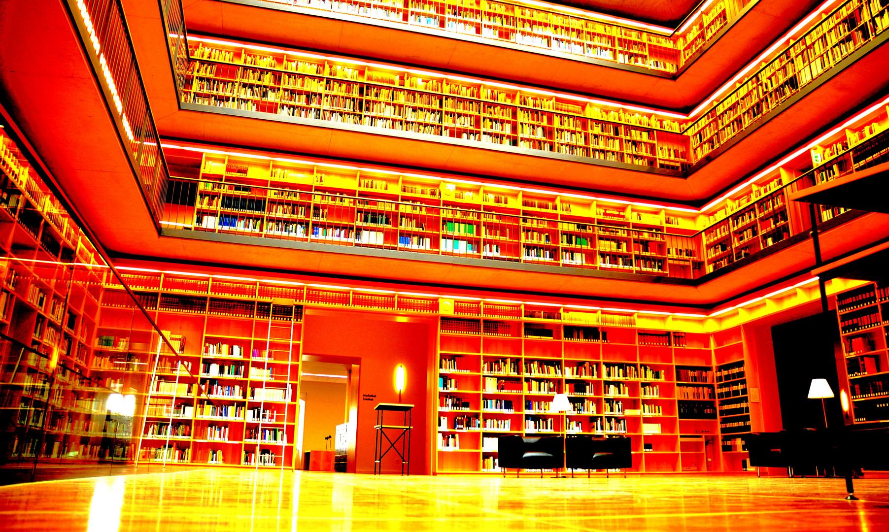 Neue Bibliothek in Weimar