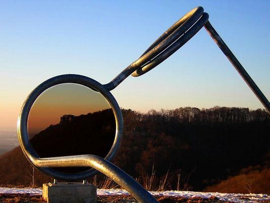 Neue Gläser gefällig ? -Blickpunkt Hohenneuffen-